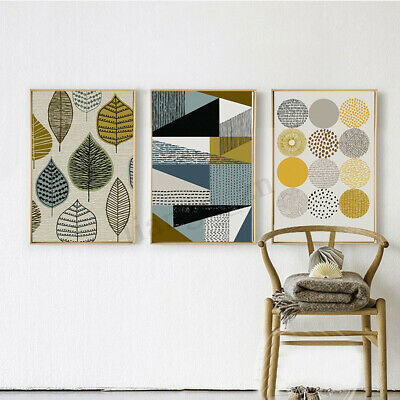Modern Canvas Print Painting Abstract Wall Art Oil Picture Unframed Home Decor