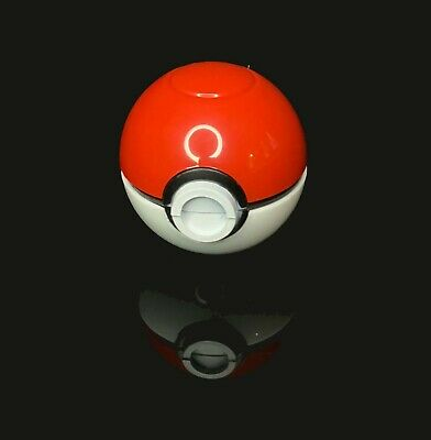 "Pokemon Pokeball Herb Spice Grinder Mill Tobacco Aluminum 3 pc 40mm 1.5"" Cosplay"