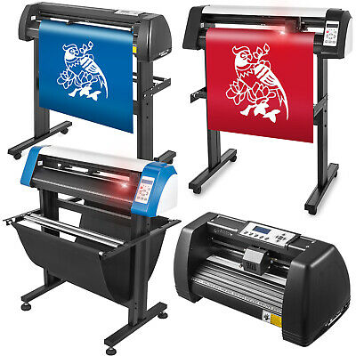 Vinyl Cutter Plotter Cutting 14/28/34/53 inch Desktop Sticker Print Sign Maker