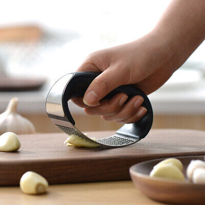 Multi Functional Ginger Garlic Presser Cook Tool Utensils Grater Manual Crusher
