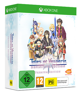 Tales Of Vesperia: Definitive  Premium Edition XBOX ONE PAL In stock Again !!!