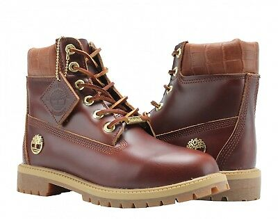 1c6ad3f69e07 Timberland A1PLD Limited Edition WP 6in Leather Lace-Up Boots UK 4 EU 37  BNIB