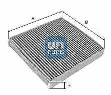 5429600 UFI Filter Interior Air Cabin Filter Replaces 066855200,66855200,S4296CA