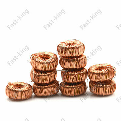 10Pcs 22uH to 470uH Toroidal Coil Inductor Induction Magnetic Winding For LM2596