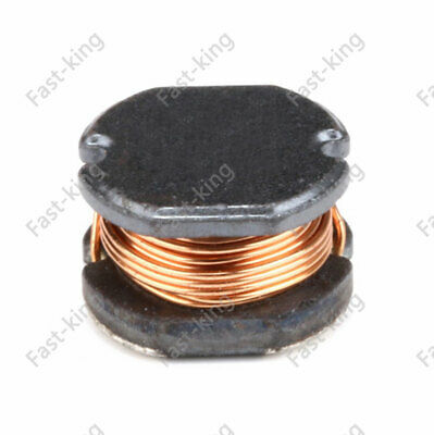 10Pcs 2.2 to 470uH Power Inductor 7.8x7x5mm Unshielded Wire Wound CD75 Inductor