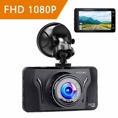 Mibao Dash Cam Dashcam 1080p Car Cameras with Recorder 3.0 Inch LCD Dash Camera