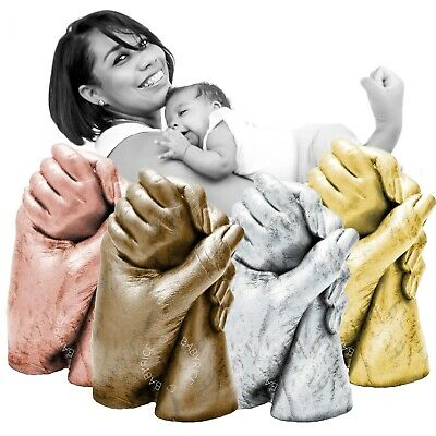 BabyRice Mum & Me Children Hand Casting Kit New Mother's Day Gift Family Cast 3D