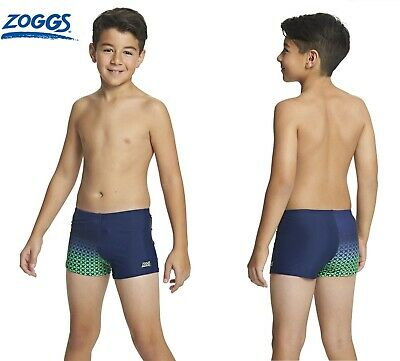 ZOGGS Swimming Shorts Trunks Hip Racers Age 6 Years Swim Beachwear Blue NEW