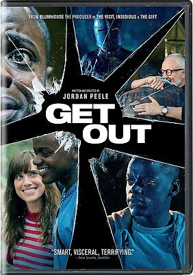 Get Out (DVD, 2017) - SHIPS IN 1 BUSINESS DAY WITH TRACKING