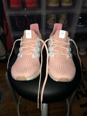 in stock 66878 518e3 Women s Shoes ADIDAS ULTRABOOST 4.0 BB6309 ASH PEARL CHAMPAGNE PINK WHITE  PEACH