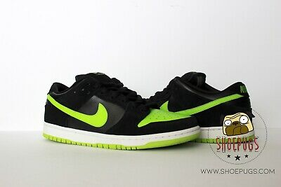 607ec996ff68 DS NIKE DUNK SB Low Neon J Pack sz 12 w  Box black chartreuse ...