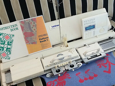 Brother knitting machine KH 970 serviced & tested + free sponge replacement kit