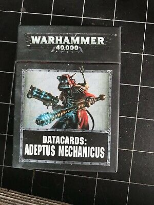 Adeptus Mechanicus datakarten allemand Games Workshop Data cards 8th warhammer 40k
