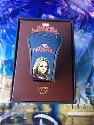 Disney Captain Marvel Brie Larson Magic Band MagicBand In Hand