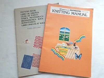 Bk94 Silver Reed Knitting Machine Instruction Manuals Mod 260 260 Pattern Book
