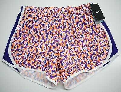 Nike Dri-Fit Girls Tempo All Over Print Running Sport Short 728094 Size XL NEW
