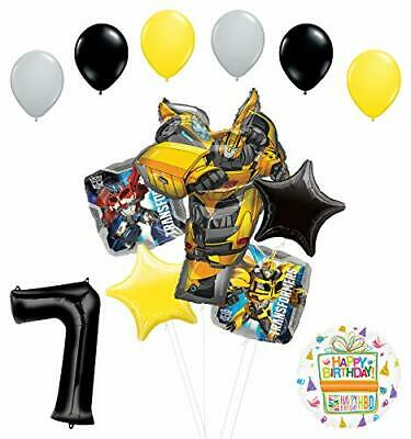 Transformers Mayflower Products Bumblebee 7th Birthday Party Supplies Balloon