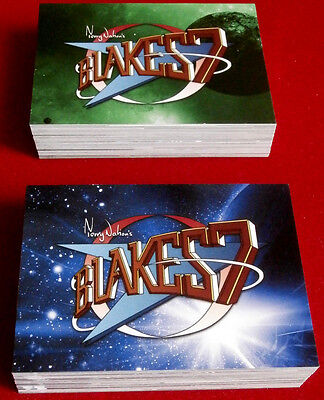 Terry Nation's BLAKE'S 7 - ALL 108 BASE CARDS!!! - Unstoppable Cards