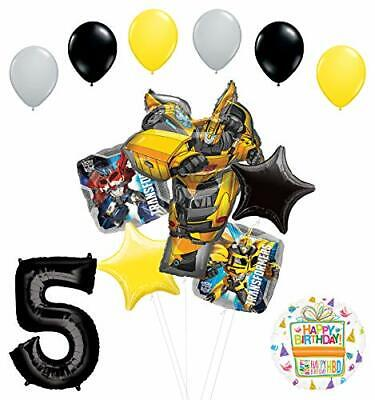 Transformers Mayflower Products Bumblebee 5th Birthday Party Supplies Balloon