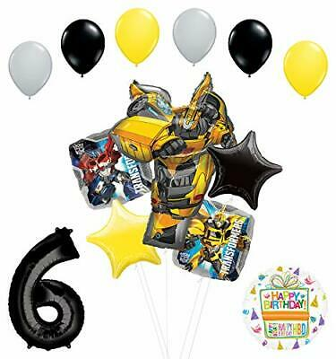 Transformers Mayflower Products Bumblebee 6th Birthday Party Supplies Balloon