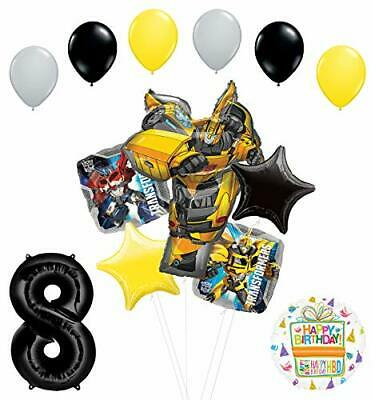 Transformers Mayflower Products Bumblebee 8th Birthday Party Supplies Balloon