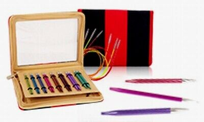 "KnitPro ""Zing"" Interchangeable Circular Knitting Needles - Deluxe Set"