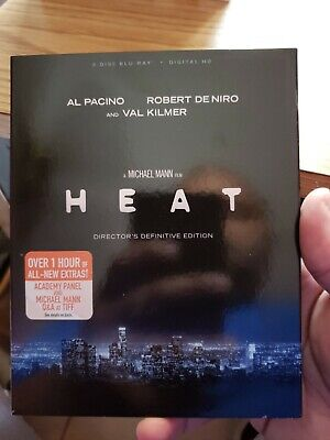 Heat Director's Definitive Edition  Blu Ray