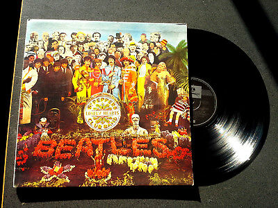 THE BEATLES sgt peppers lonely hearts club band lp record australia PSCO 7027