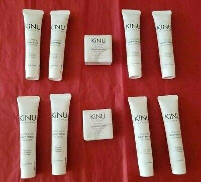Aria Resort Las Vegas 10 Pc Travel Size Bath Body Items Kinu Skincare