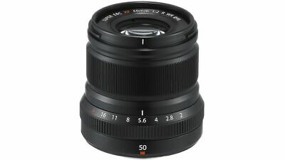 MINT Fujifilm XF 50mm f/2 WR lens w/ 3 bonus filters (READ!)