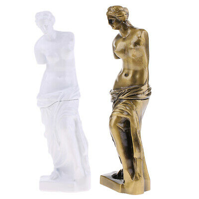 2pcs Aphrodite Venus Greek Roman Dess Of Love Statue Sculpture 7x2inch