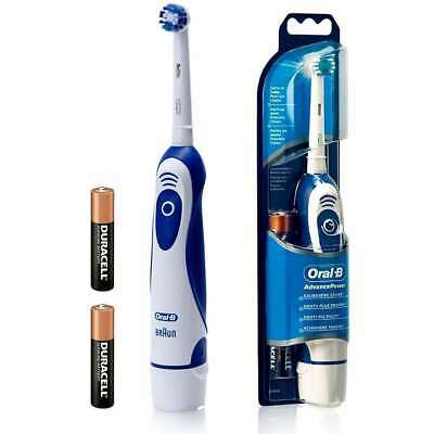 Braun Oral B Advance Power 400 Electric Toothbrush Db4010 Ap400 Battery Powered