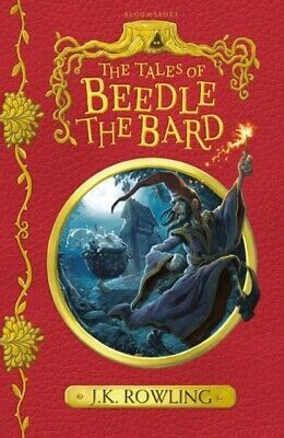 The Tales of Beedle the Bard by J.K. Rowling (Paperback Book) 9781408883099 *NEW