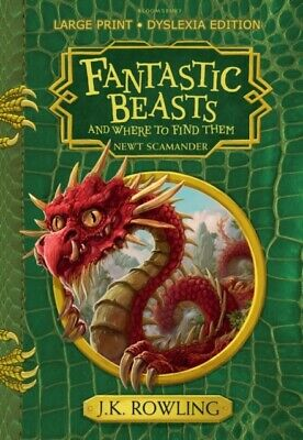 Fantastic Beasts and Where to Find Them by J. K. Rowling (Paperback Book) *NEW*