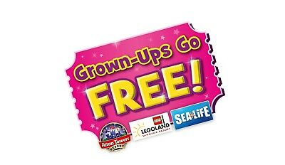 Kelloggs Free Adult Entry Code: Legoland, Thorpe Park, Sealife, London Eye ++
