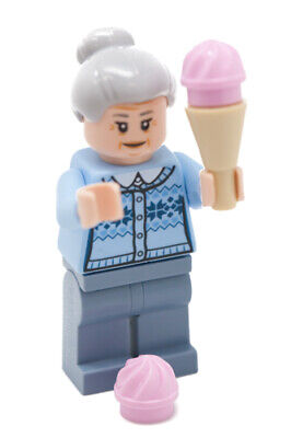 Disney Marvel Spider Man Comic Aunt May Lego Figure With Ice Cream Scoops 76115