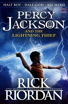 Percy Jackson and the Lightning Thief Book 1 by Rick Riordan (Paperback Book)