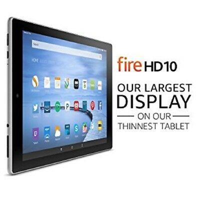 """Amazon Fire HD 10 (5th generation) 16GB 10.1"""" HD Touchscreen Tablet E-Reader"""