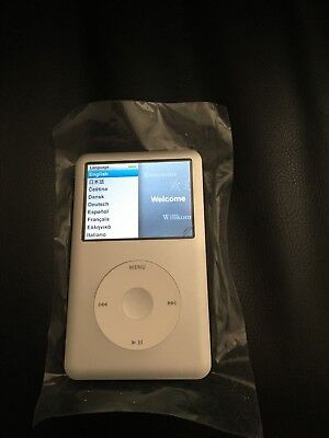 Apple iPod 7th Gen Classic with 256GB Compact Flash Drive (Refurbished) (SIlver)