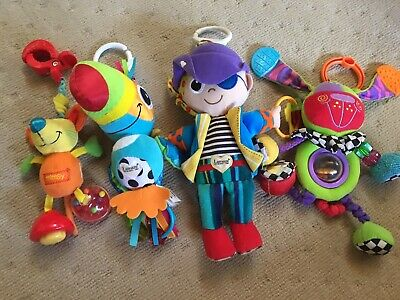 LAMAZE BABY TOYS BRIGHT EDUCATIONAL BULK Dog Parrot Pirate X 4