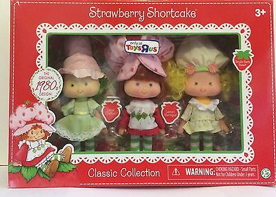 Strawberry Shortcake Classic Multipack~with Lime Chiffon & Lemon Meringue Retro