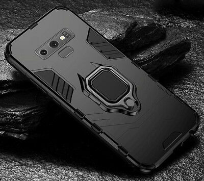 For Samsung Galaxy S10 / S10 Plus / S9 / S8 Case 360 Ring Kickstand Armor Cover