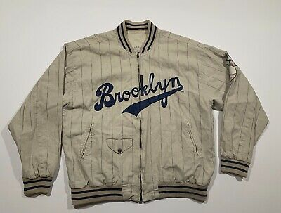 5a02f66f1 Brooklyn Dodgers World Series 1955 Mirage Jacket Cooperstown Collection XL