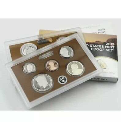 2019 S United States Mint Proof Set 10 Coin No Extra W Cent