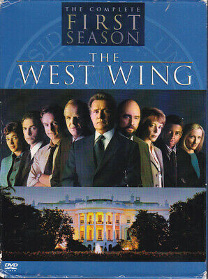 THE WEST WING SEASON 1 - Warner Bros DVD 4 disc set 2007 - Very Good - Politics
