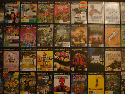PS2 Playstation 2 games | Various titles, please make your selection