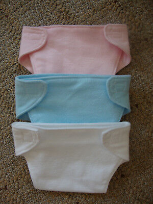 Bitty baby doll diapers --set of 3--