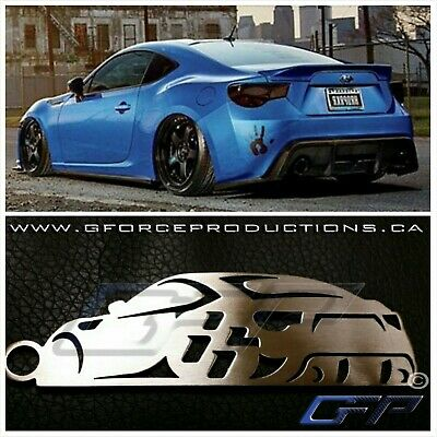 Subaru / Toyota / Scion FRS BRZ GT86 Stainless Steel Custom JDM Key chains turbo