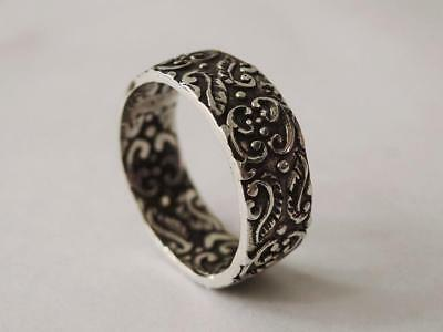 Sovats 925 Sterling Silver Mens Jewelry Antique Classic Ring For Mens Size 5-12