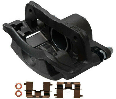 Disc Brake Caliper-Friction-Ready New Caliper with Bracket Front Right fits 3